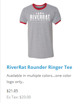 colors ringer tee